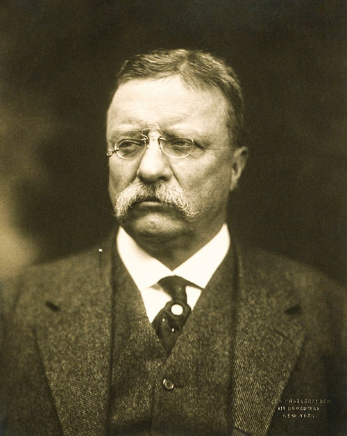 The Jefferson Educational Society Resurrects Bespectacled Legend and American Badass Teddy Roosevelt by Alex Bieler