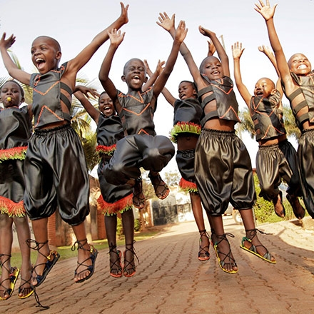 Celebrate with the African Children's Choir by Miriam Lamey