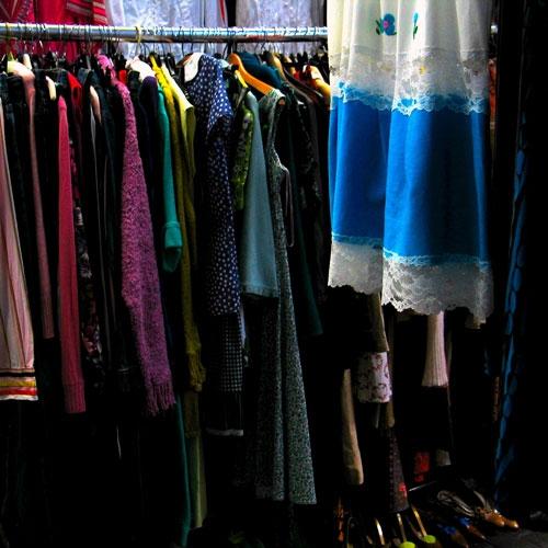 Thrift Shop Shopping by Matt Flowers