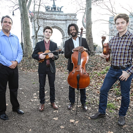 Give Your Ears a Workout With Turtle Island Quartet by Miriam Lamey