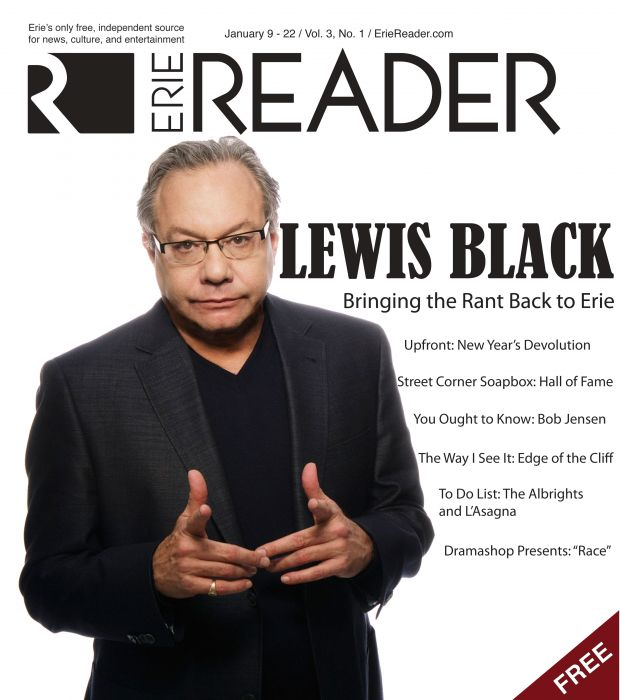 Lewis Black: Bringing the Rant Back to Erie by Cory Vaillancourt