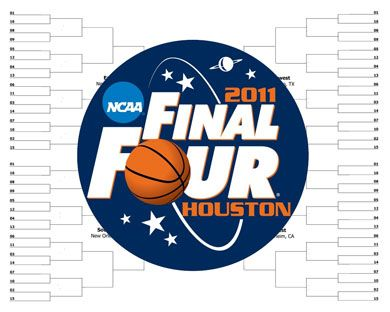 2011 NCAA Tournament Bracket by Alex Sibley