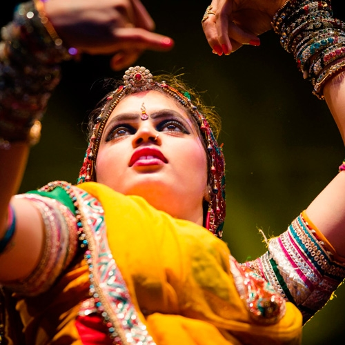 Bollywood Masala Orchestra & Dancers of India Brighten MIAC Stage by Sara Toth