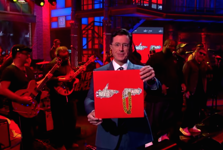 Now Hear This: RTJ and TVotR on Colbert by Alex Bieler
