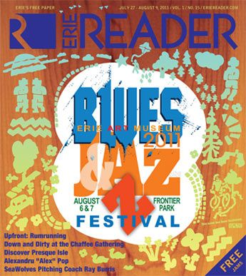 Erie Art Museum Presents 19th Annual Blues and Jazz Festival by Cory Vaillancourt