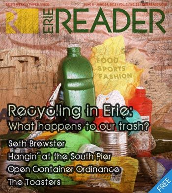 Recycling in Erie: Where does our trash go? by Abby Badach
