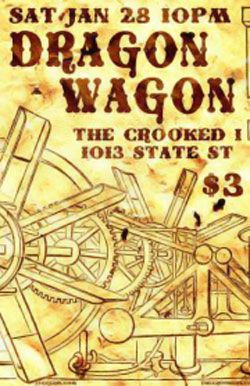 Matt Texter to open for Michigan-based Dragon Wagon at the crooked i by Alex Bieler
