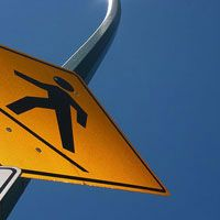 Street Corner Soapbox: Pedestrians? Rights by Jay Stevens