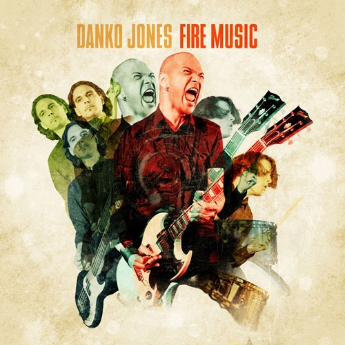 Danko Jones // Fire Music by B. Toy