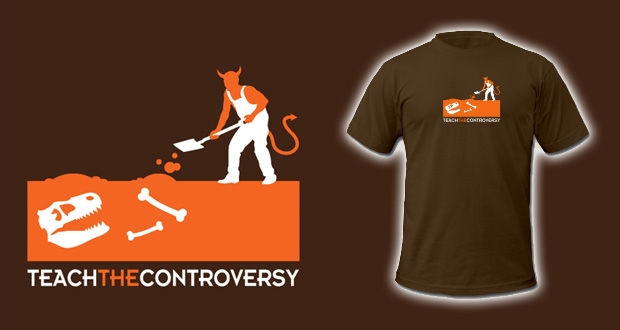 The Perfect Shirt for Making Fun of Creationism in School by Jay Stevens