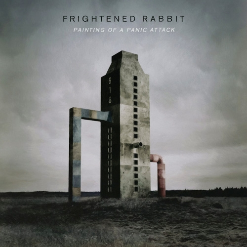 Frightened Rabbit // Painting of a Panic Attack by Nick Warren
