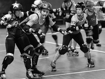 Erie Roller Derby Pre-Bout-Stout by Sean Fedorko