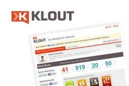 Tech Watch: Klout by David Hunter, Epic Web Studios