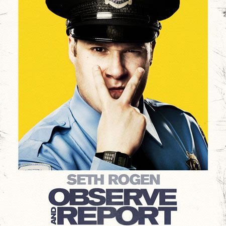 Joe Movie - Observe and Report by Joe Chiodo