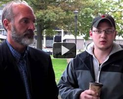 Video Exclusive: Occupy Erie protestors meet with Erie chief of police by Liss Vickery