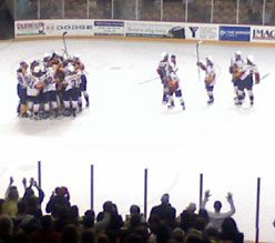 Erie Clinches Playoff Berth in 4-1 Win over the IceDogs by Alex Sibley