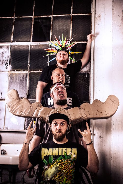 Psychostick brings Humorcore to Basement Transmissions by Alex Bieler