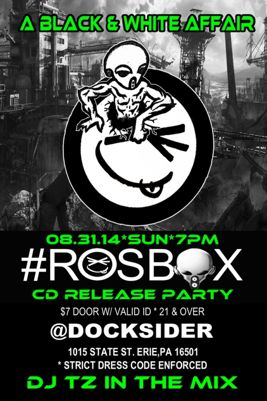 Docksider to host #ROSBOX CD Release Party by Alex Bieler