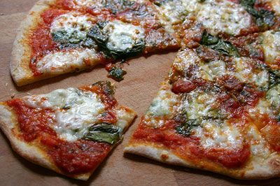 Chef Jorge Dishes out a Veggie Pizza Recipe by Jorge A. Bustamante