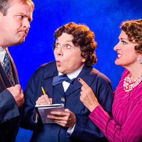 The Game's Afoot Opens  at Erie Playhouse by Mary Birdsong