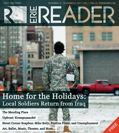 Home for the Holidays:  Local Soldiers Return from Iraq by Cory Vaillancourt