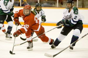 Defense Fuels No.2 Cornell's Victory Over Mercyhurst by Alex Sibley