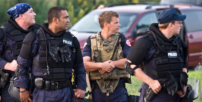 Street Corner Soapbox: The Militarization of Police