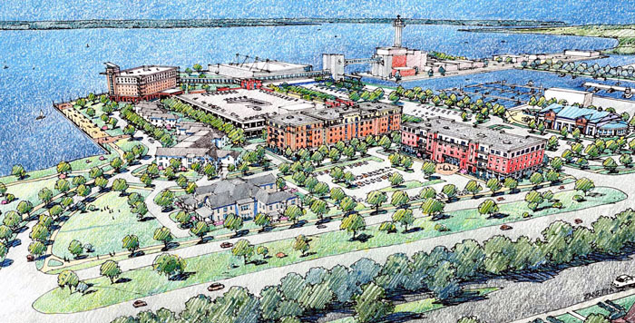 Erie's Bayfront Takes Shape