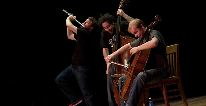 A Project Trio Puts a New Spin on Chamber Music