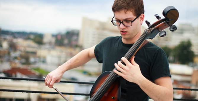 Christopher Bell to Redefine How a Cello Can Be Played at the Rook