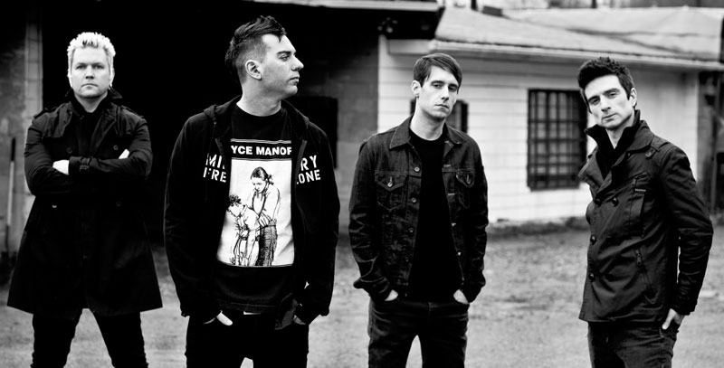 After Eight Long Years, Political Punk Rockers Anti-Flag Return to Erie